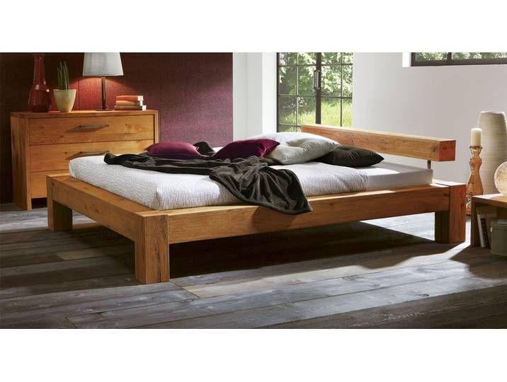 Echtholzbett Rustico 160x220 Cm Wildeiche Weiss Fusshohe 20 Cm M 160x220 Echtholzbett Fusshohe Rustico Weiss In 2020 Master Bedrooms Decor Bed Decor Furniture
