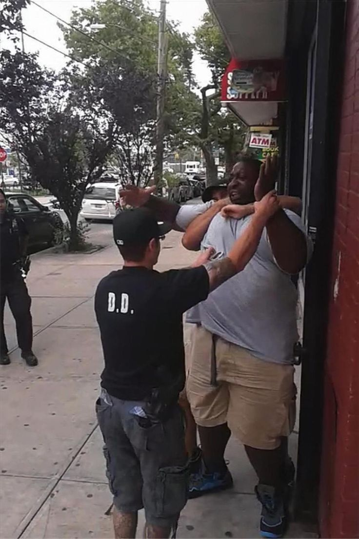 Eric Garner died in Staten Island on July 17 after police placed him in a chokehold. His death was ruled a homicide Friday.