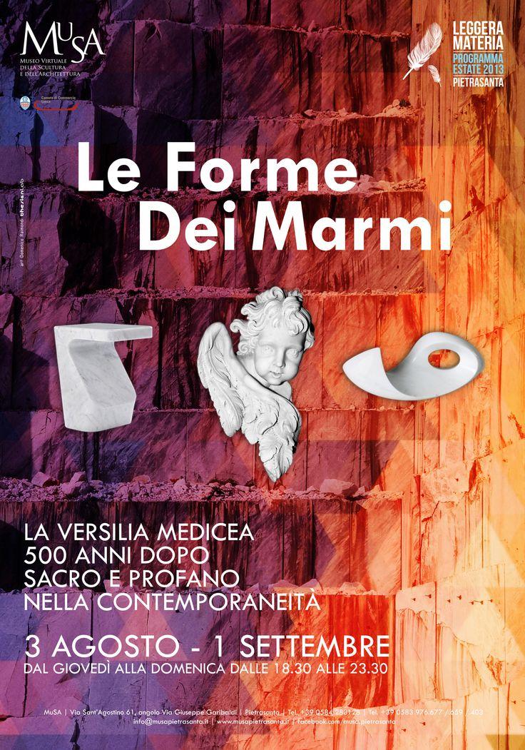 """Le Forme Dei Marmi"" - adv - art: Domenico Raimondi @thesignLab"