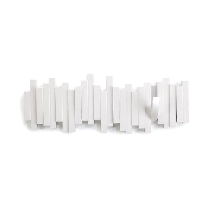 Amazon.co.jp : umbra 壁掛けフック STICKS MULTI HOOK(スティックス マルチフック) ホワイト 2318211-660 : ホーム&キッチン