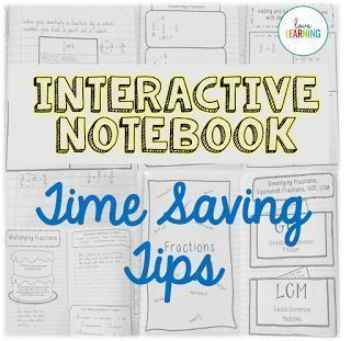 Do you use interactive notebooks but struggle with the organization aspect? Here are some quick and easy time saving tips!