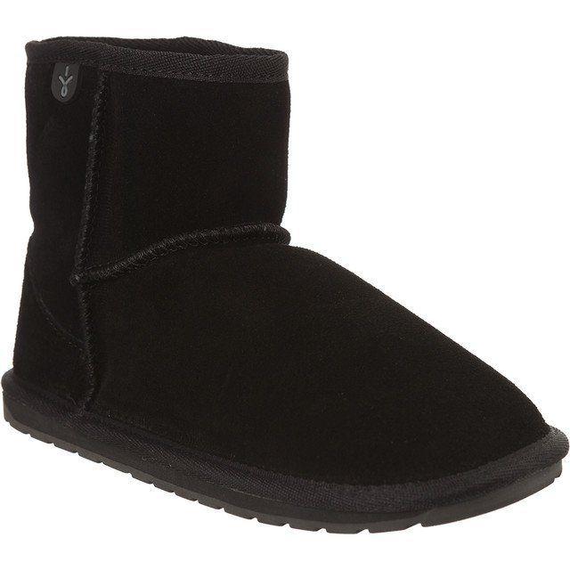 Sniegowce Dla Dzieci Emuaustralia Emu Australia Czarne Wallaby Mini Black Boots Ugg Boots Uggs