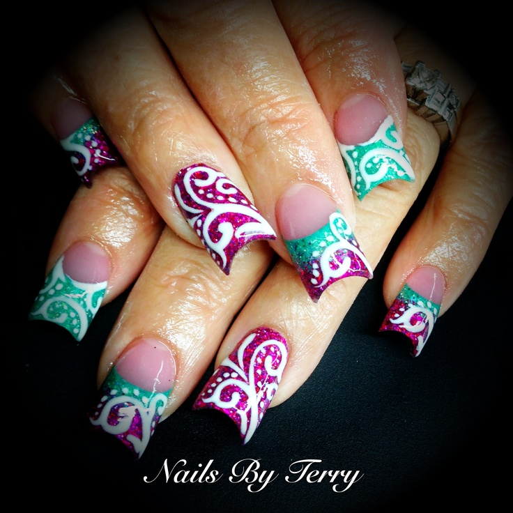 91 Best Nails Images On Pinterest Nail Scissors Nail Decorations