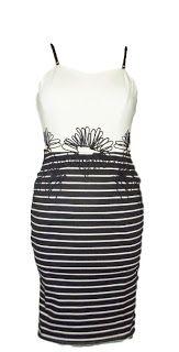 YUMI ON LINE: SHEINSIDE ROBE DRESS BODYCON ARABESQUES TS OU 36/3...