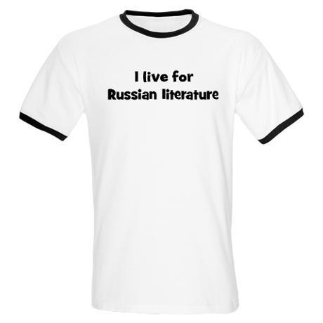 Live, breathe, eat Russian literature