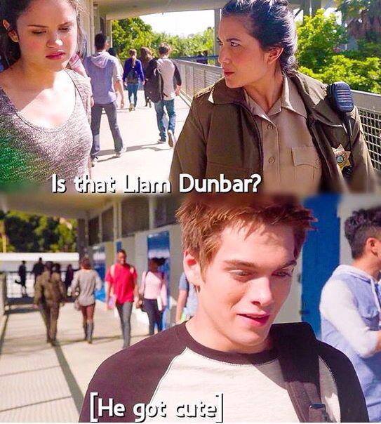 Hayden, her sister and Liam. Teen Wolf Season 5 Episode 6