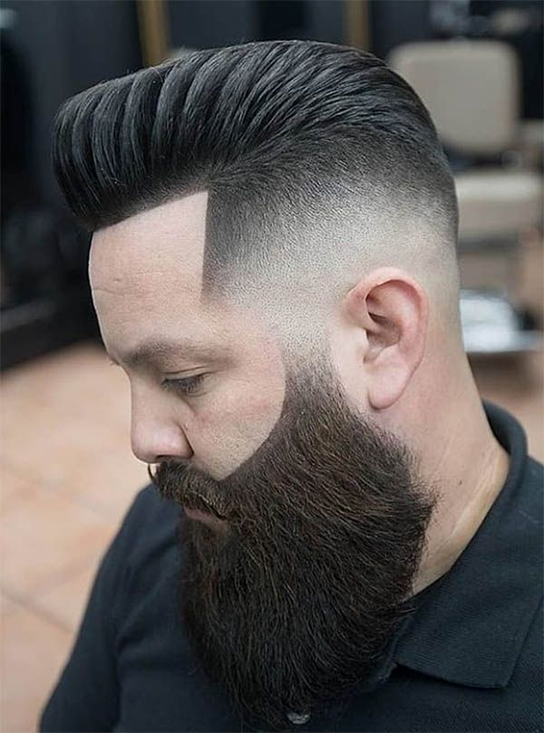 46+ Edged up beard info
