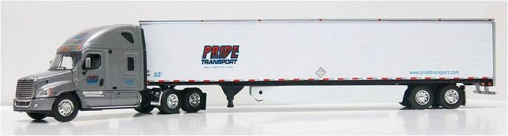 Die Cast to scale Pride Toy Truck $65.00 Available in the Pride Store.