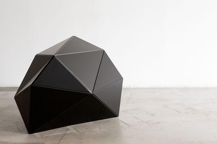 17 Bethnal & 2nd St #materials #freeform #organic #parametric #wood #flexible #design #innovation #digital #architecture #cladding #startup #installation #black #geometric #rock #solid