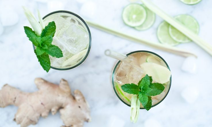Zázvorová limonáda | KITCHENETTE