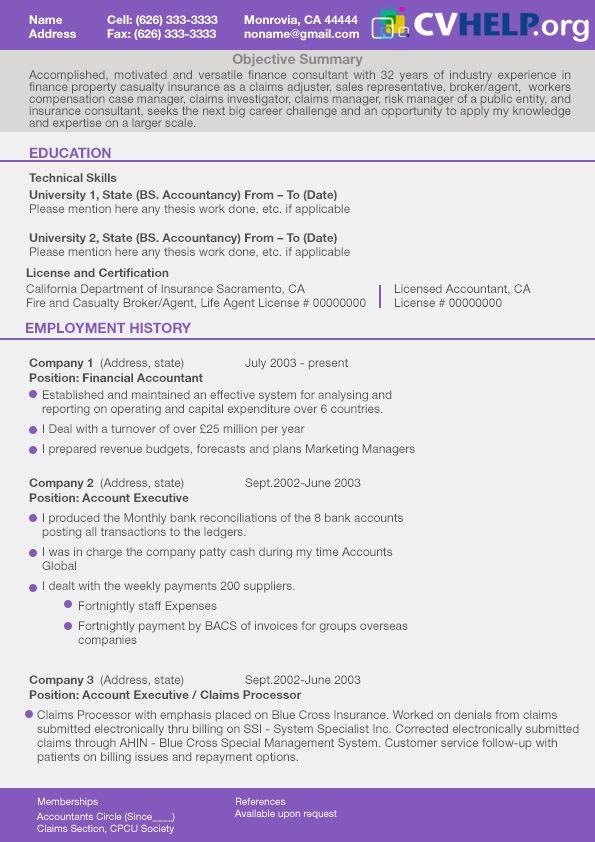 CV Format (cvformat) on Pinterest