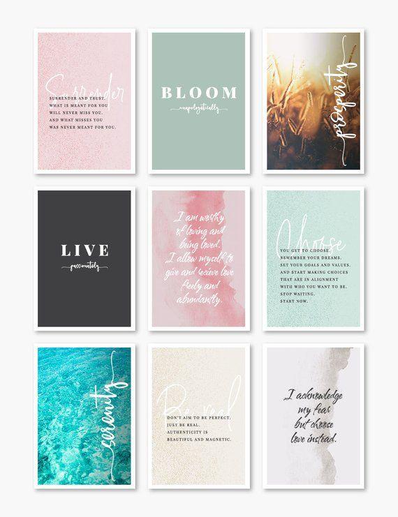 b207b13d71ea18 Printable Affirmation Cards