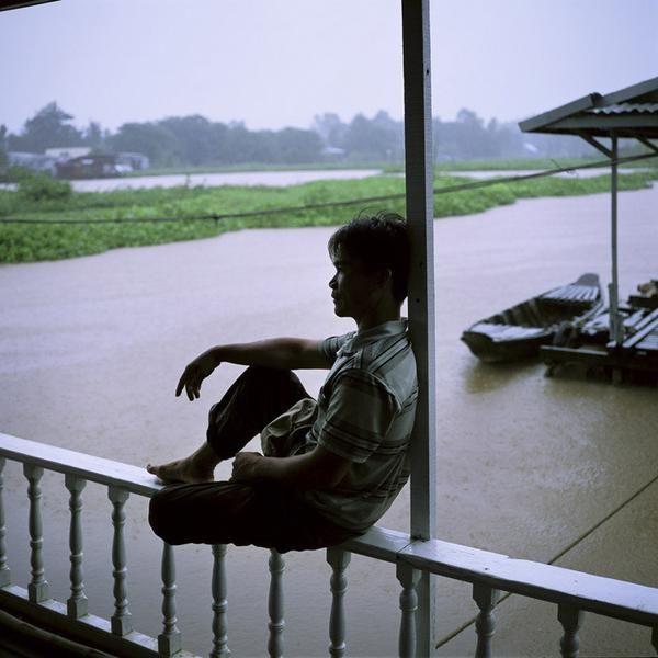 """© Eric Bénard - """"Vietnam, Chau Doc, batelier du Mékong"""""""