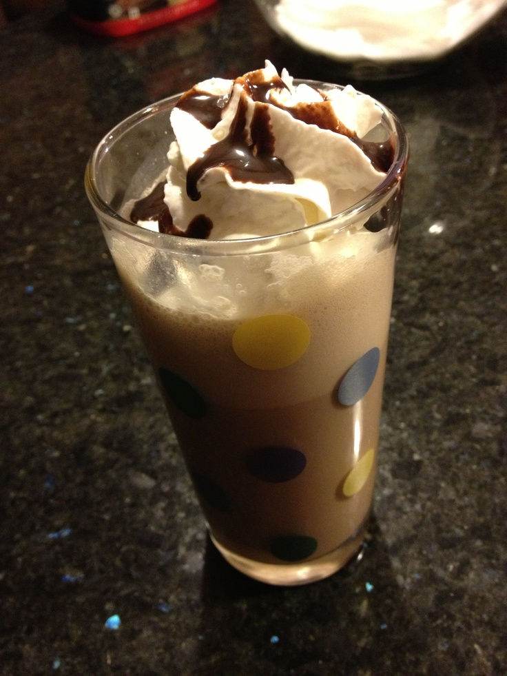 Mock Starbucks mocha frappe all you need is 1 1/2 cups