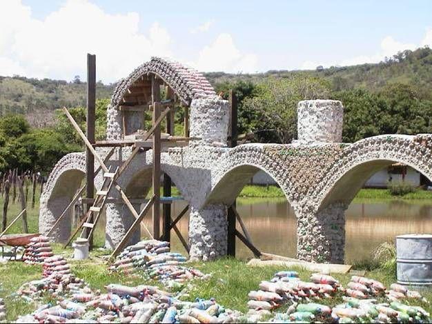 Chile: Olmué opta por casas de botellas recicladas para las familias pobres - VeoVerde