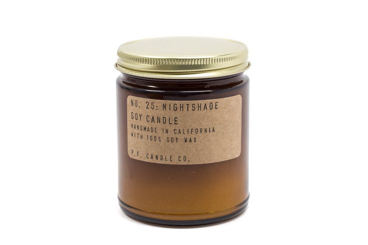 This intriguing fragrance melds black peppercorn and bergamot with green notes of moss and lavender. Fresh florals play on the top notes.Details: Soy. 7.5 oz. 40-50 hour burn time. Handmade in Los Angeles.P.F. Candle Co. is a handmade candle and home fragrance goods company, owned and operated by...