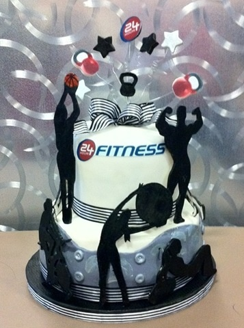 Fitness Cake Zumba And Cakes On Pinterest