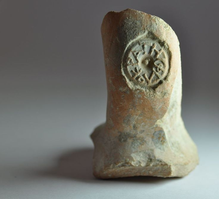 Greek art, amphora handle seal, 3rd century B.C. Private collection