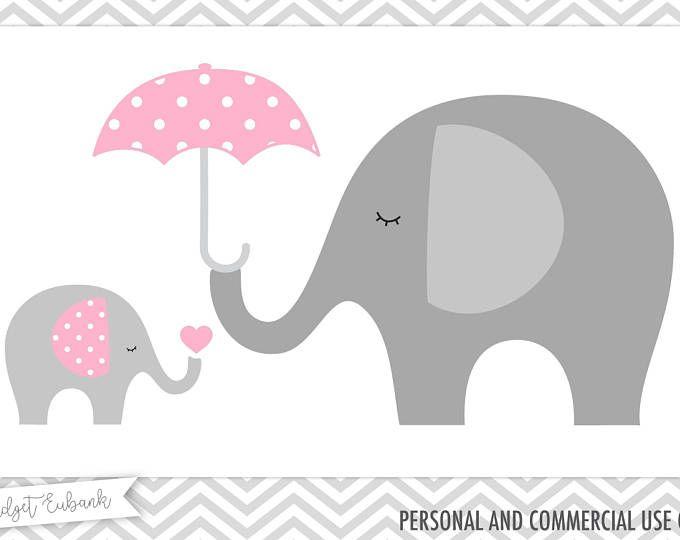 Bebé ducha clipart, clipart elefante, bebé elefante