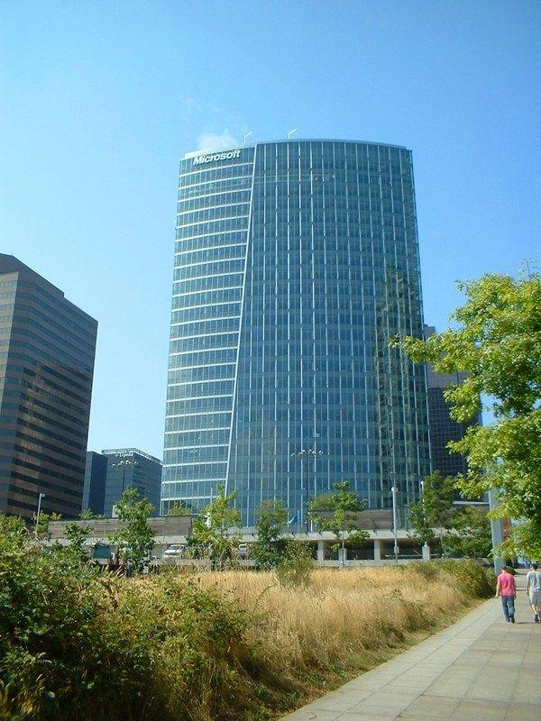 microsoft office in seattle. Microsoft Office In Downtown Bellevue Seattle