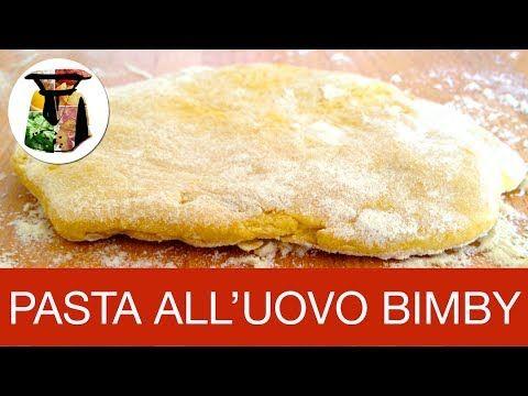 Pasta Fresca all'Uovo Bimby Fatta in Casa