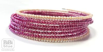 Memory wire handmade bracelet