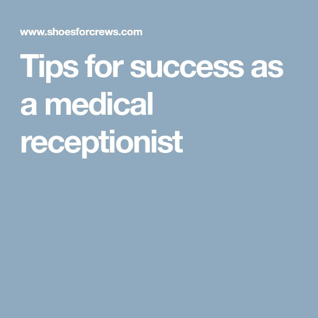 The  Best Medical Receptionist Ideas On   Medical