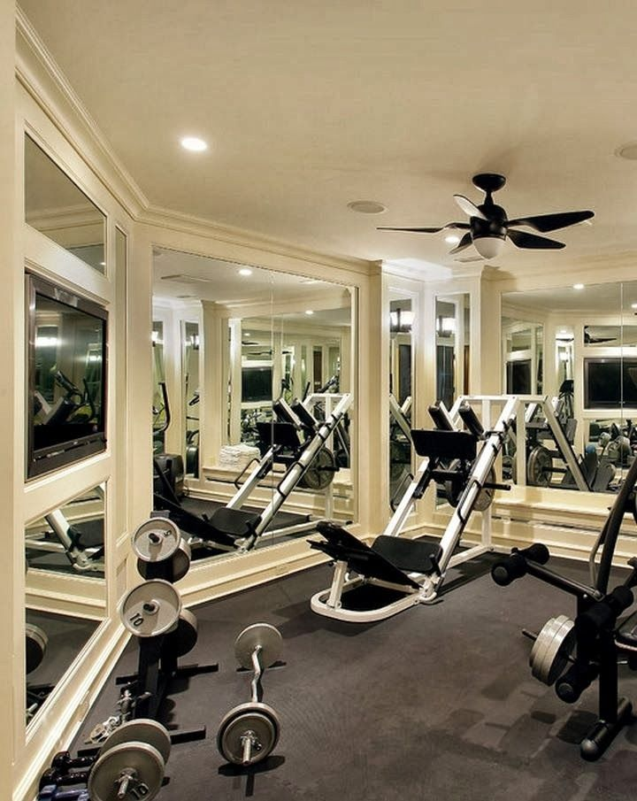 Best workout room office ideas images on pinterest