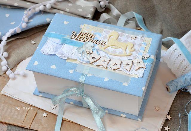 ZiZiркалье: Ещё одна коробочка для малыша ♥