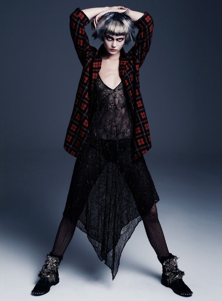 Punk Attitude  Frida Gustavsson by Steven Pan for Flair Fall 2013