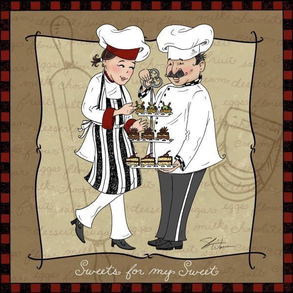 Frameless Modern Cartoon Chefs Canvas Prints Restaurant: 555 Best Images About MUTFAK On Pinterest
