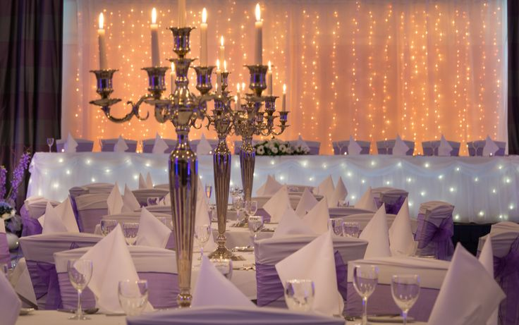 Our Greenwich suite dressed for a real wedding