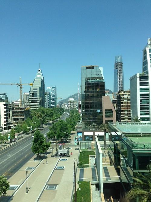 Las Condes, Santiago, Chile. Bairro sensacional para viver.