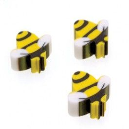 Bee Party Supplies Bumble Erasers Favors