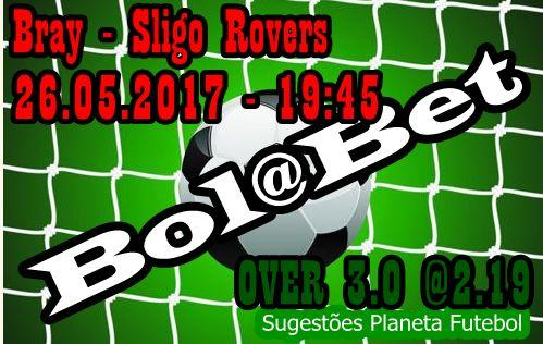 O Sligo Rovers quer subir na tabela, irá conseguir pontos? O PLANETA FUTEBOL deixa aqui a sua sugestão na rubrica Bol@Bet... Divirta-se e Ganhe… ==»»»   https://www.facebook.com/planetafutebolfas   «««==