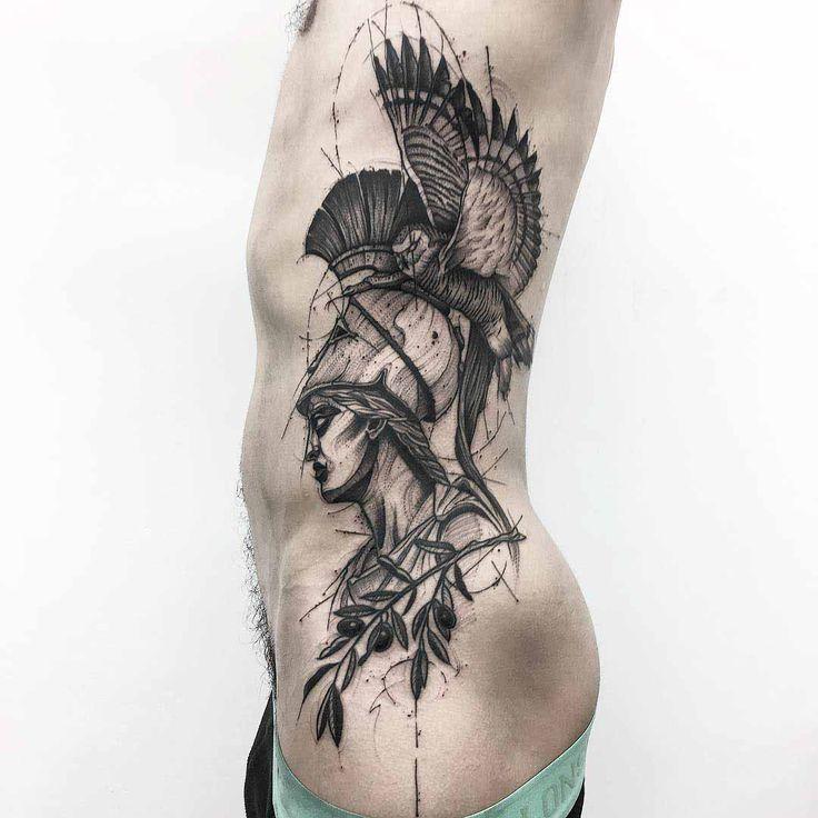 side tattoo artemis