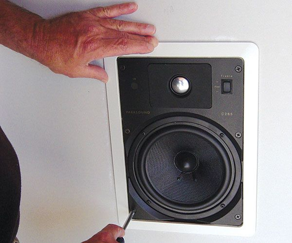 How To Install In-Wall Speakers                                                                                                                                                                                 More