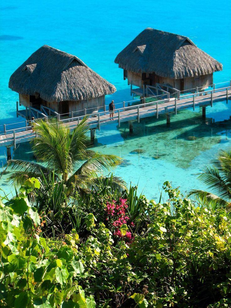 17 best images about off shore house on pinterest villas for Bungalows flotantes en bora bora
