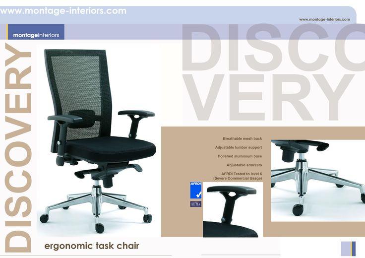 DISCOVERY mesh backrest task / desk chair
