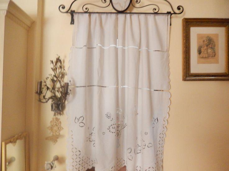 rideau en fil | rideau de fils blancheporte, rideau fil rideaux et ...