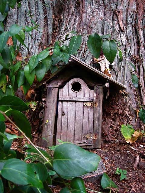 \ Baggins\  Fairy Door Fullford Salt Spring Island B.C. by cproppe & 13 best Faerie Doors of Salt Spring Island images on Pinterest ...