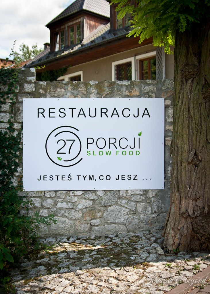 27 porcji slow food  - delicious food from a great chef in Krakow
