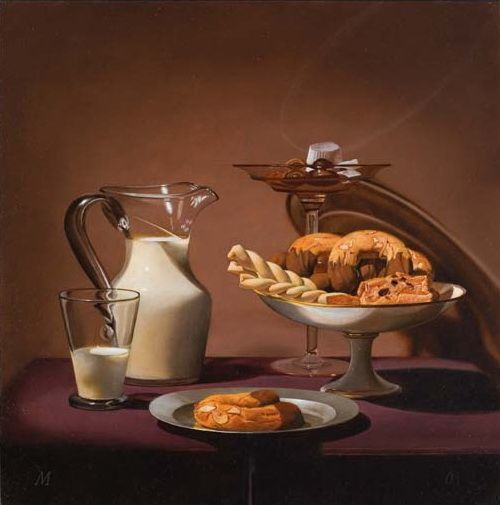 Martha Mayer Erlebacher. Milk and Crescents