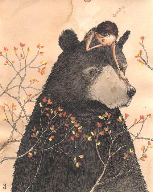 .: Illustrations Art, Best Friends, Animal Paintings, Books Illustrations, Bears Hugs, Art Show, Grahamfrancio, Bears Art, Graham Francio