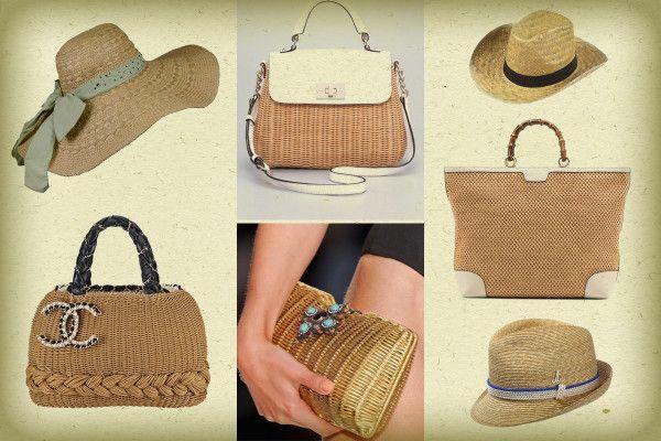 #PAGLIA MANIA: un fuoco di #GLAMOUR!  Scopri tutti i modelli delle #borse e dei #cappelli da giorno, da sera e da spiaggia, per l'estate!  http://www.pinkshake.it/paglia-mania-materiale-povero-ricco-di-glamour/