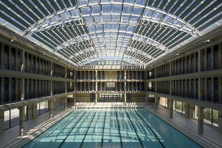 Les 63 meilleures images du tableau piscines publiques sur for Public swimming pools paris