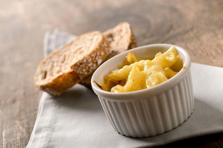 Mac and cheese com queijo gouda defumado