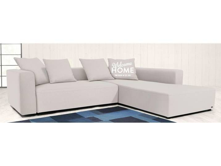 Tom Tailor Eck Sofa Heaven Casual M Weiss Komfortabler Federkern Couch Home Decor Furniture
