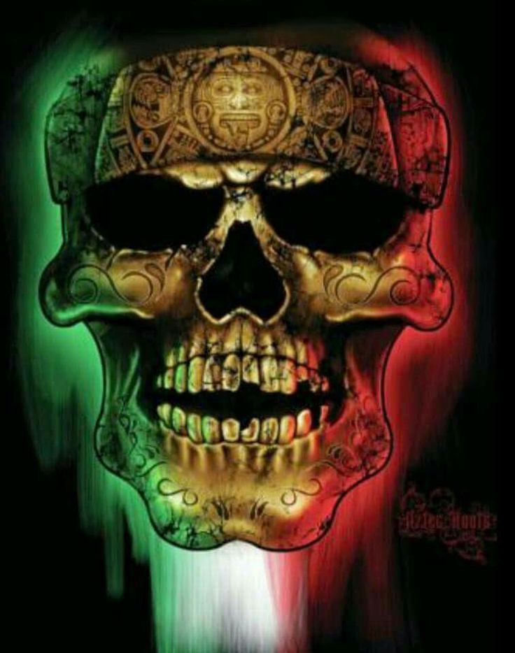 Aztecas dia de muertos noviembre 1y2 100 chicano for Mexican pride tattoos