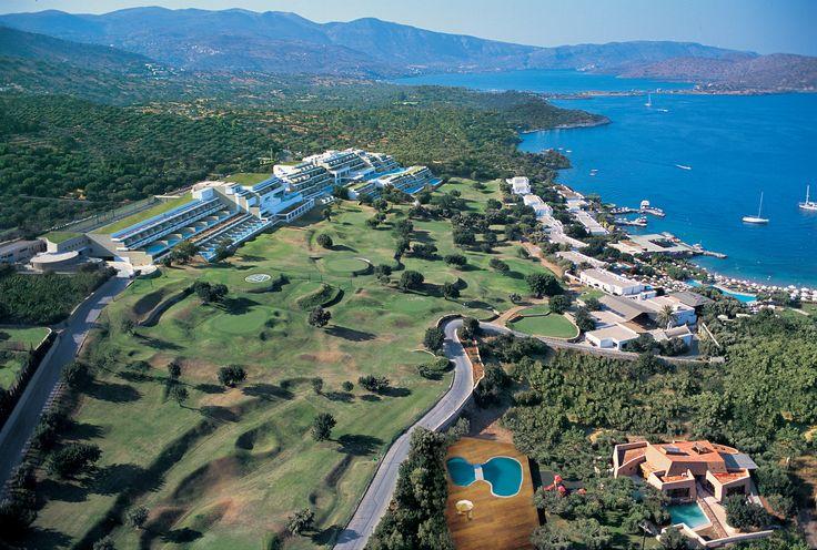 Porto Elounda De Luxe Resort - Panoramic View http://www.elounda.com/en/hotels/europe-greece-crete-lassithi-elounda/portoeloundadeluxeresort.html